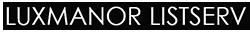 Luxmanor ListServ Mobile Logo